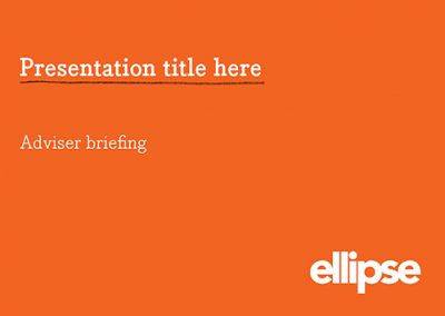 ELLIPSE – Presentation Template