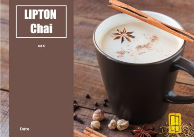 CHAI TEA – Presentation Design